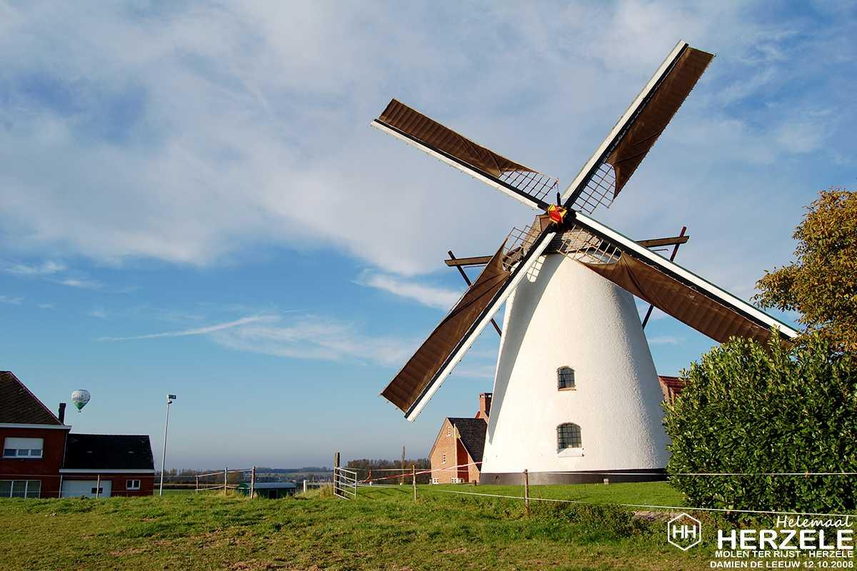 vzw Molen Ter Rijst vrienden draagt windmolen over aan gemeente