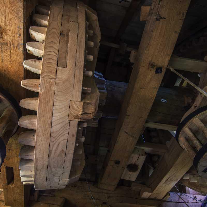 Interieur van de molen<br>02-07-2020 - ©Patrick Goossens