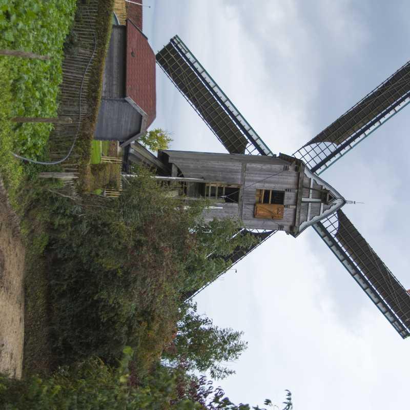 Draaiende molen<br>18-10-2020 - ©Patrick Goossens